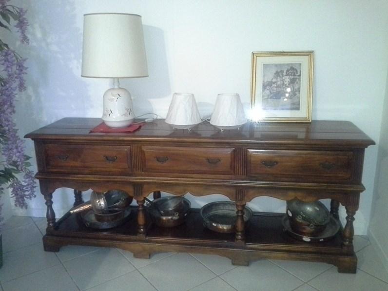 Consolle in legno esotico for Zanotti arredamenti