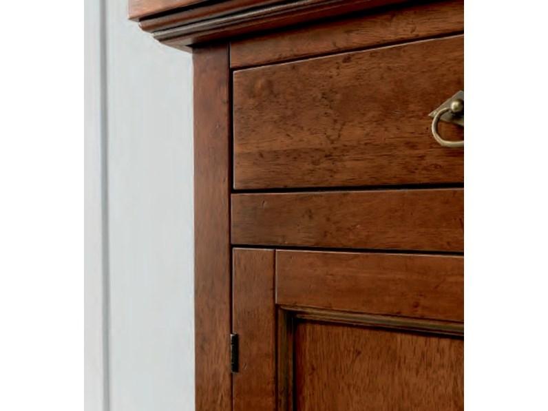 Credenza Arte Povera Legno Massello : Credenza artigianale in legno massello a prezzo scontato