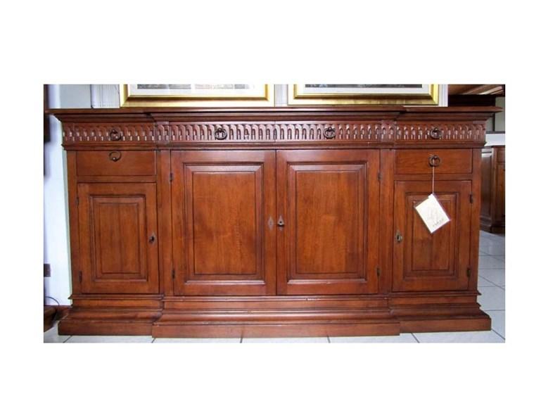 Credenza Bamax in legno massello PREZZO OUTLET