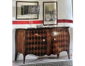 Credenza classica artigianale in legno a prezzo Outlet