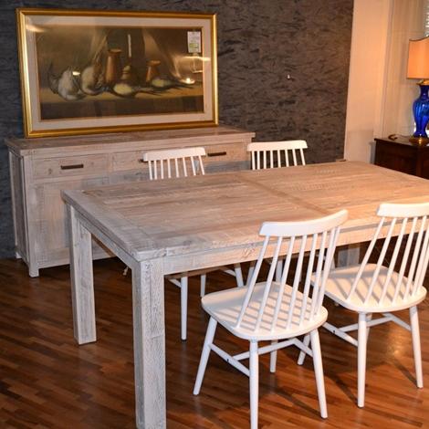 Credenza con tavolo e sedie scontato del -50 % - Soggiorni a ...