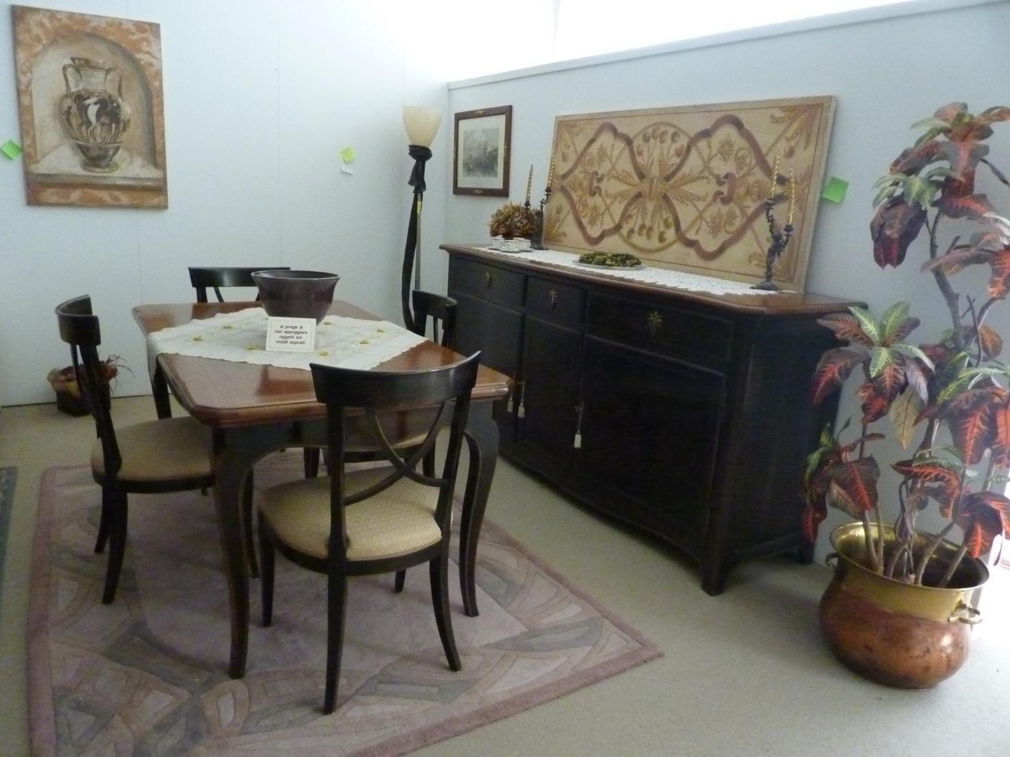 Credenza con tavolo e sedie soggiorni a prezzi scontati - Faber mobili prezzi ...