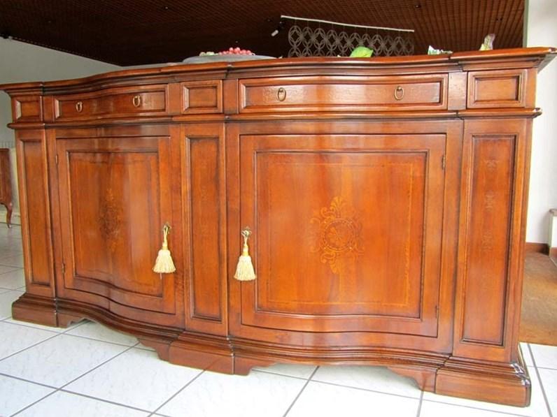 Credenza in legno massello artigianale