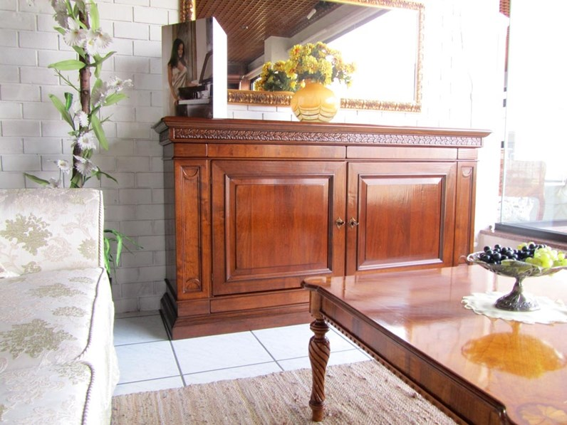 Credenza le fablier in legno a prezzo outlet