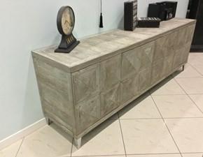 Credenza Madia Dialma Brown finitura ossidata in legno vecchio DB003987