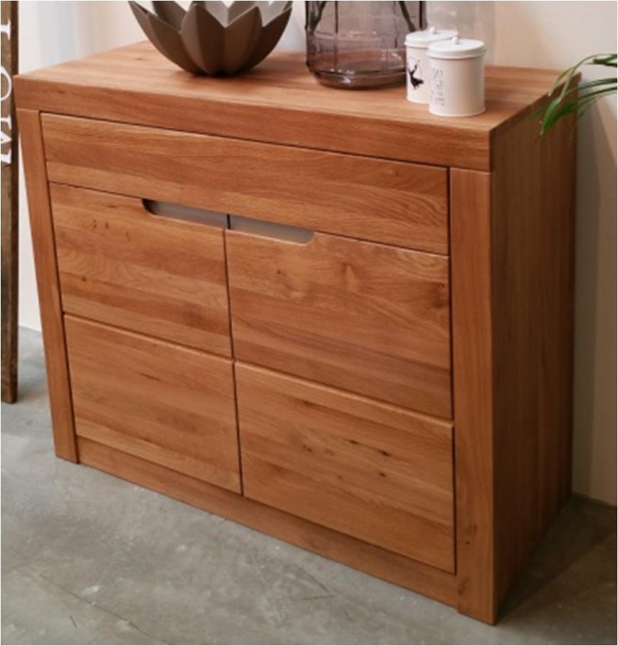 Credenza moderna cucina soggiorno in legno 2 ante 1 - Ante in legno per cucina ...