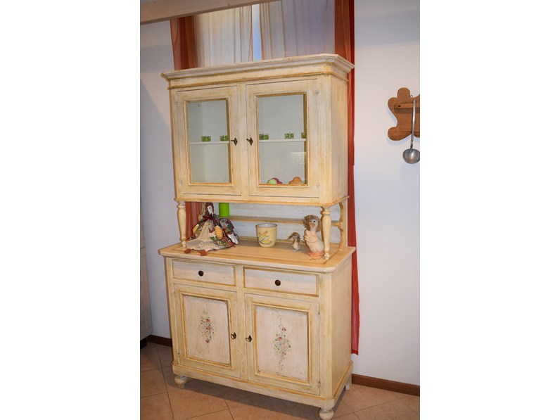 Credenza Con Chiave : Credenza veneta artigianale in stile classico a prezzo ribassato