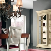 vetrinetta in legno stile provenzale shabby chic