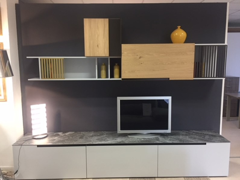 Dall 39 agnese soggiorno slim speed legno pareti attrezzate design - Dall agnese mobili classici ...