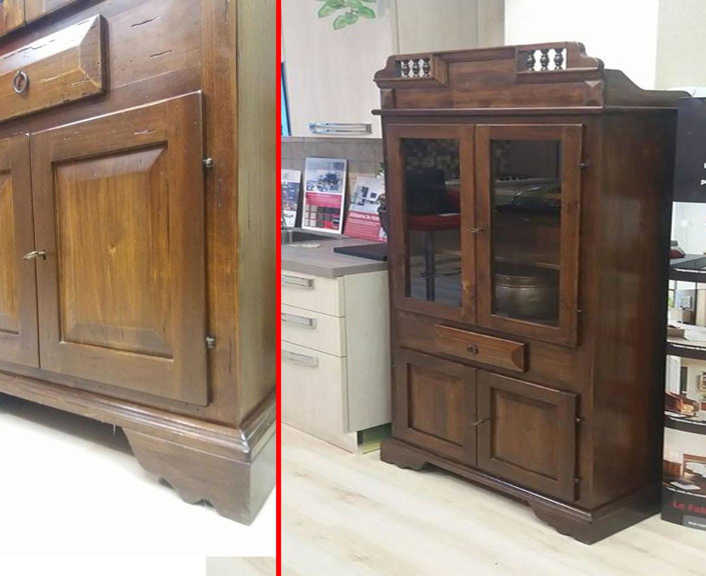 Dispensa in arte povera maggi 54 soggiorni a prezzi for Produttori mobili classici