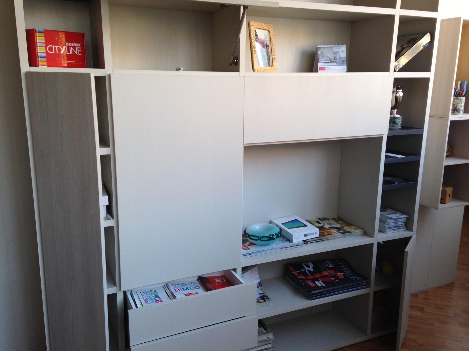 Doimo CityLine Soggiorno Libreria scontato del -40 % - Soggiorni a ...