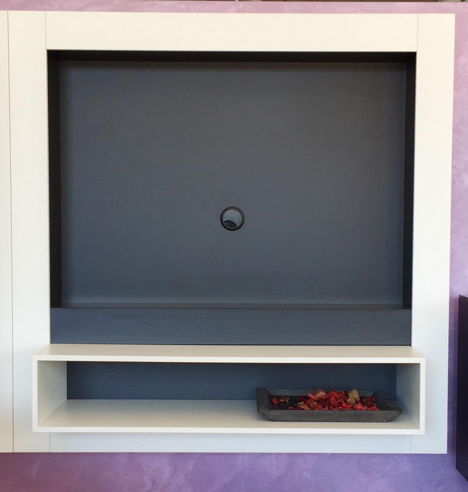 Feg soggiorno headline porta tv laccato opaco porta tv - Porta tv design ...