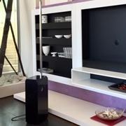Feg Soggiorno Headline-porta tv Laccato Opaco di Design per TV max.L=100 cm.