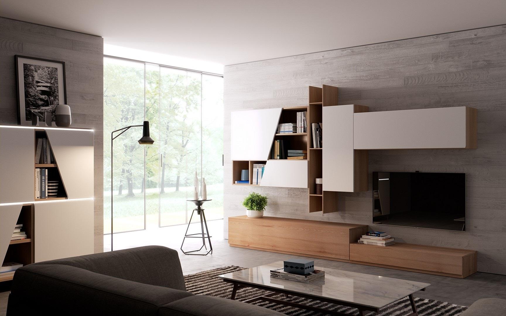 giessegi soggiorno living scontato del -32 % - soggiorni a prezzi ... - Soggiorno Giessegi 2