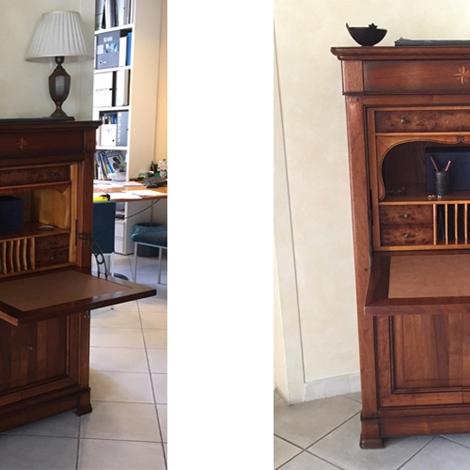 Grande arredo soggiorno segretaire stile classico legno for Mobili grande arredo