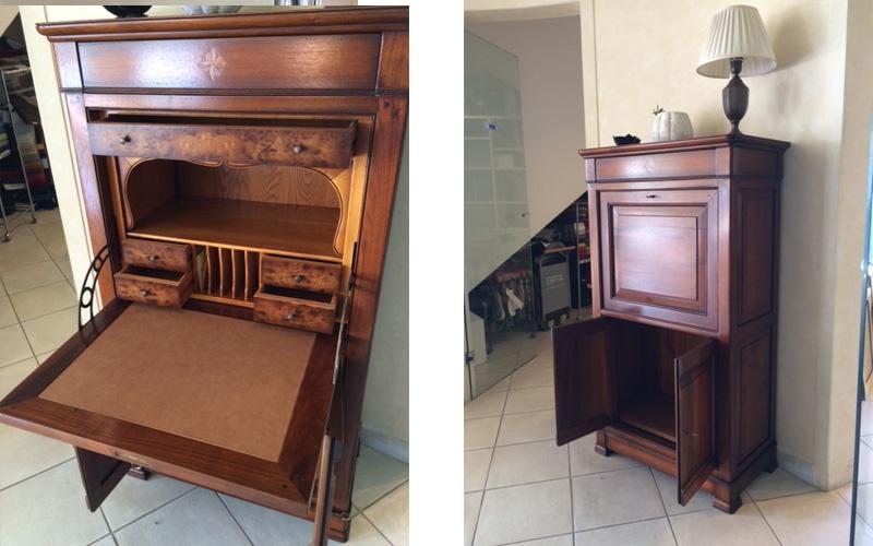 grande arredo soggiorno segretaire stile classico legno mobili ingresso soggiorni a prezzi