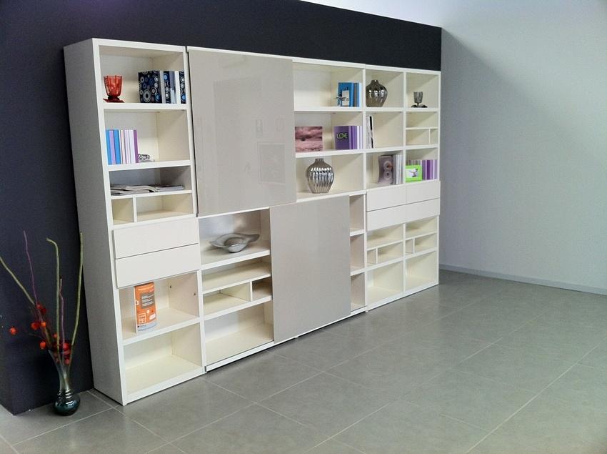 Grandissimi sconti 15931 soggiorni a prezzi scontati - Mobile libreria con ante ...