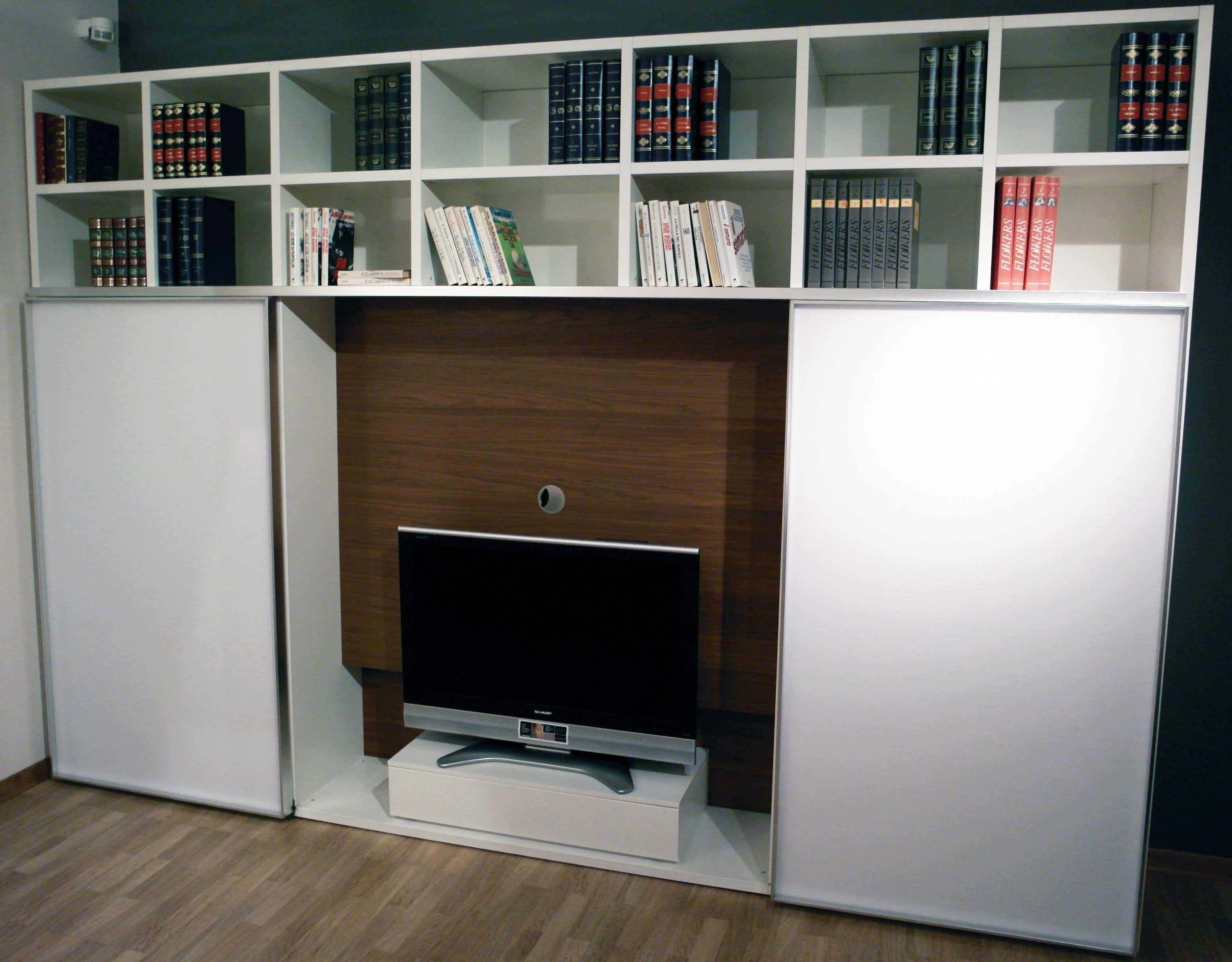 Awesome Librerie Soggiorno Photos - Idee Arredamento Casa - baoliao.us