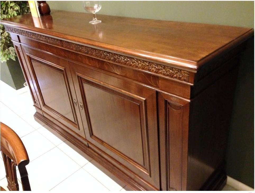 Soggiorni Classici Le Fablier : Credenza in legno stile classico sconto del