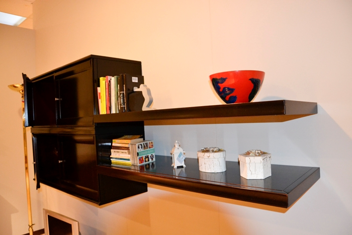 Mensole soggiorno moderno cheap cucina moderna stosa for Mensole quadrate ikea