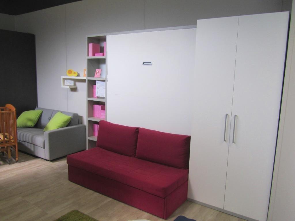 Costruire un letto a scomparsa disegno idea camere da - Costruire letto a scomparsa ...