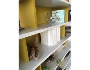 Libreria 505 libreria molteni Molteni & c in laccato opaco a prezzo Outlet