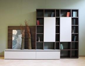 Libreria About day Novamobili in stile design a prezzo scontato