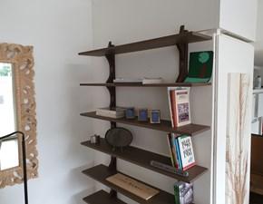 Libreria Artigianale in laccato opaco Mensole sospese a prezzo scontato