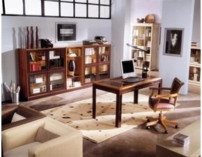 Libreria Artigianale in legno Composizione n a prezzo Outlet