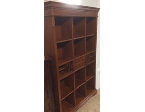 Libreria Artigianale in legno Libreria  in Offerta Outlet