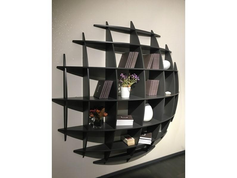 Librerie In Legno Prezzi.Libreria Artigianale In Legno Planet A Prezzo Outlet