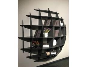 Libreria Artigianale in legno Planet a prezzo Outlet
