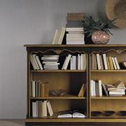 Soggiorno Libreria bassa stile veneziano scontato del -30 %