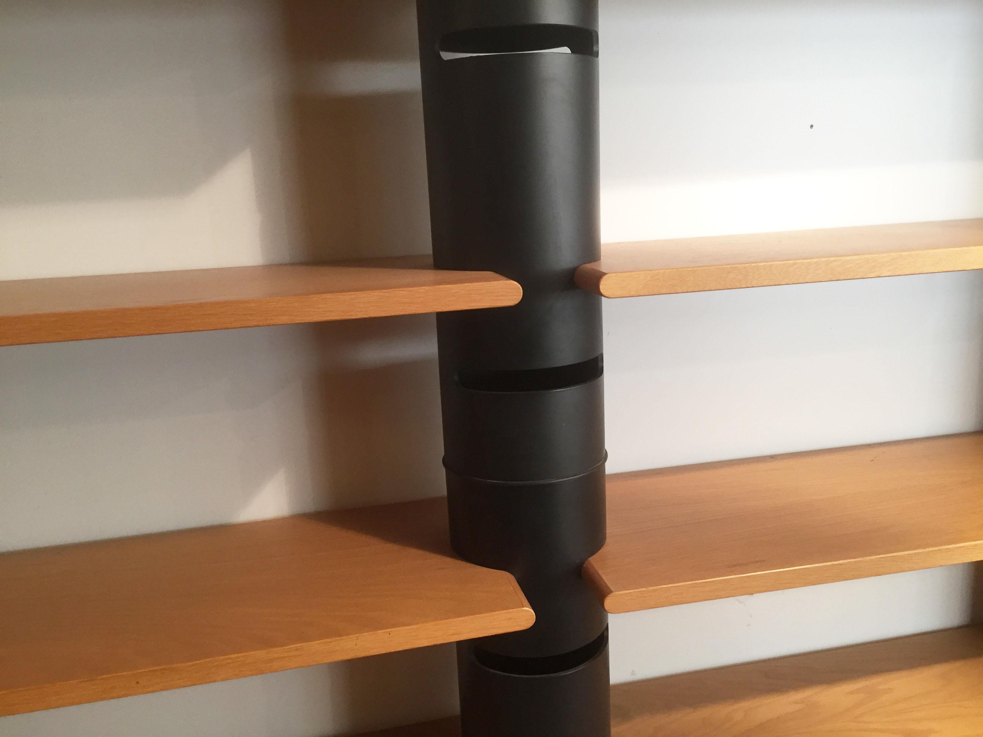 Libreria bernini modernariato design gian franco frattini for Bernini arredamento