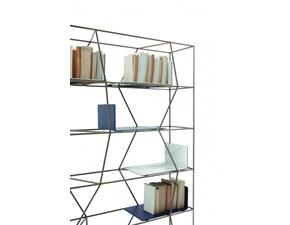 Libreria Bontempi casa in legno a prezzo Outlet