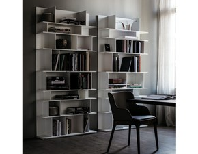 Libreria Cattelan in laminato opaco in Offerta Outlet
