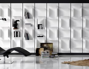 Libreria Cattelan in legno Fifty in Offerta Outlet
