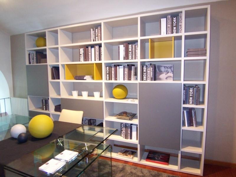 Libreria con ante in offerta jesse modello open with librerie con ante - Librerie a ponte ikea ...