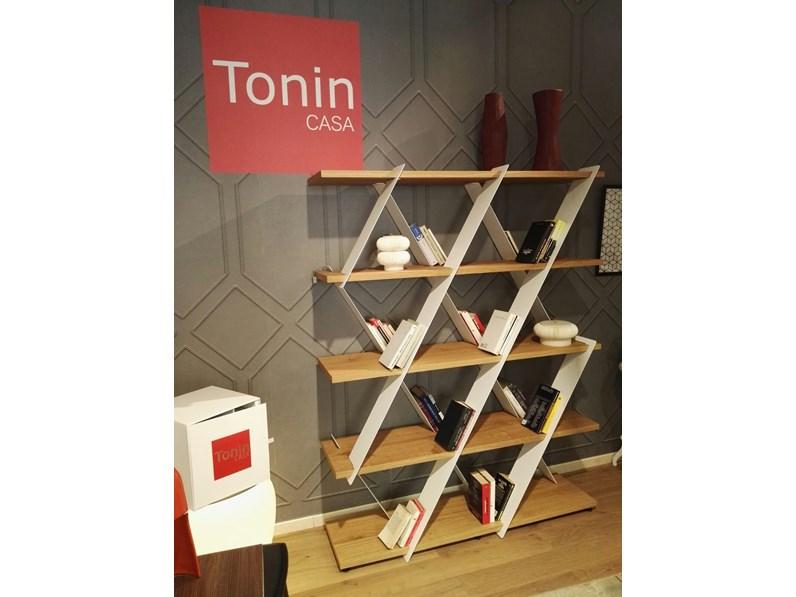 Libreria design di tonin casa scontata del 35 for Soggiorni di design