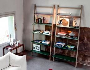 Libreria Devina nais in legno Klass a prezzo Outlet