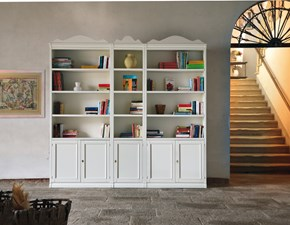 Libreria di Decor art in laccato opaco a prezzo Outlet
