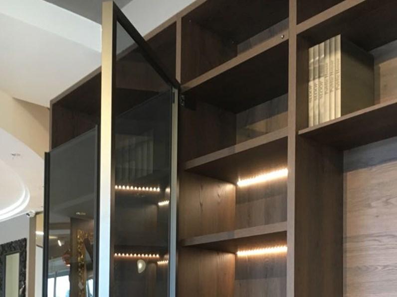 Libreria di novamobili wall 30 a prezzo scontato for Arredamento di marca scontato