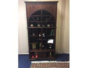 Libreria di Stones in legno teak massello Coloniale in Offerta Outlet