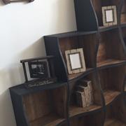 Libreria Dialma Brown 4460 in legno vecchio riciclato