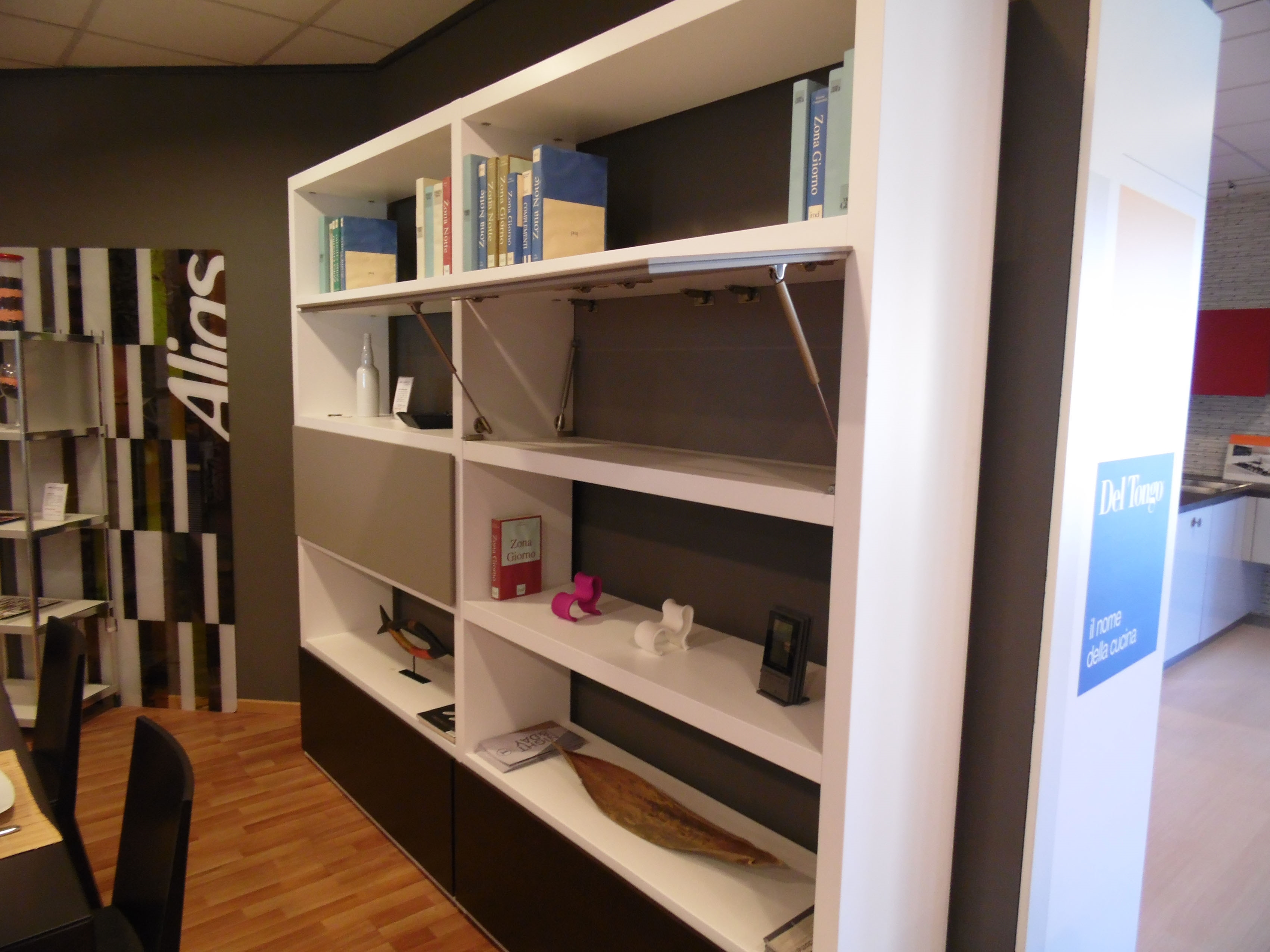Libreria doimo design class scontato del 60 soggiorni for Arredamento design scontato