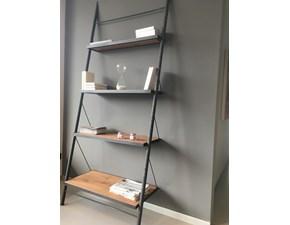 Libreria Easy -  in ferro e ripiani in legno massello Devina nais con un ribasso del 31%