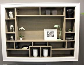 Libreria Ecclettica Devina nais in legno a prezzo Outlet