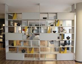 Libreria Febal in laminato opaco Trenta a prezzo Outlet