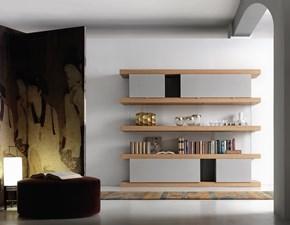 Libreria Forme's in legno F2/ f. line 2400 in Offerta Outlet