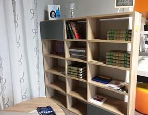 Libreria Golf ciliegio anticato Colombini in stile design a prezzo ribassato